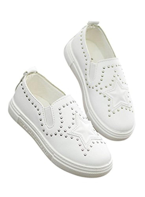 (ウイ カプア) u'i Kapua 星 スタッズ PU レザー スニーカー 子供 靴 スリッポン