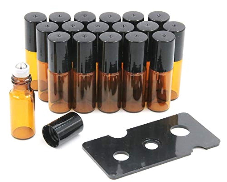 助けになるメアリアンジョーンズ宣言するXPdesign アロマ ロールオン遮光瓶 アロマオイル 遮光瓶 保存 容器 小分け 詰め替え 香水 ボトル (5ml 18本セット)