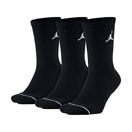 NIKE(ナイキ) メンズ バスケットソックス ジョーダン ジャンプマン 3Pクルー 3足セット SX5545 013ブラック 23-25
