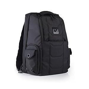 GRUVGEAR バックパック 多機能バック 通勤や通学にも使用可能 DJバックやPCバック ステルスブラックカラー VENUEBAG02STL