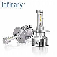 「Infitary-V3」H4 LEDヘッドライト Hi/Lowビーム H4 デュアルビームヘッドライト 超高輝度1860チップ (H4)