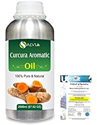 Curcuma Aromatica (Curcuma aromatica salisb) 100% Natural Pure Essential Oil 2000ml/67 fl.oz.