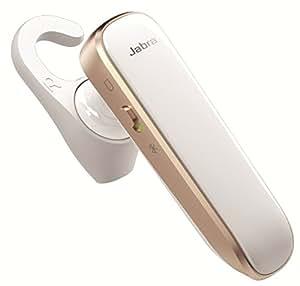 Jabra BOOST ホワイト/ゴールド ワイヤレス Bluetooth イヤホン ヘッドセット (モノラル) 【日本正規代理店品】