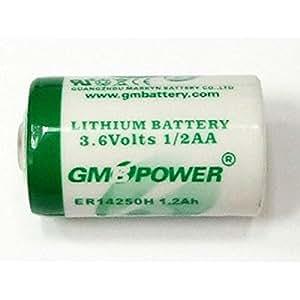 Macバックアップ用 Mac用 1/2AA リチウム乾電池 3.6V内蔵リチウム電池 CBT36V同等品