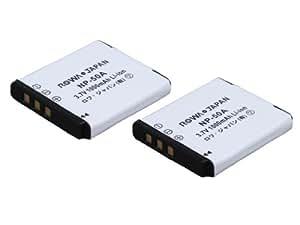 【実容量高】【2個セット】 PENTAX ペンタックス Optio A36 S10 S12 の D-LI122 D-LI68 互換 充電式 リチウムイオン バッテリー【ロワジャパンPSEマーク付】