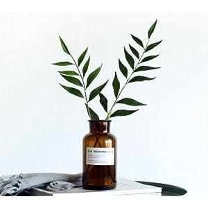 ITOMTE 超特価セール 40%OFF 花瓶 フラワーベース 花器 一輪挿し ガラスベース ガラスボトル 水栽培 インテリア雑貨 インテリア飾り 北欧雑貨 母の日 プレゼント(ブラウン広口)