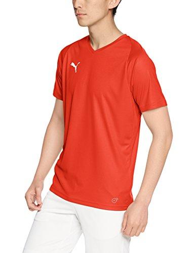 [プーマ] サッカーウェア LIGA ゲームシャツ コア 703638 [メンズ] プーマ レッド/プーマ ホワイト (01) 日本 S (日本サイズS相当)