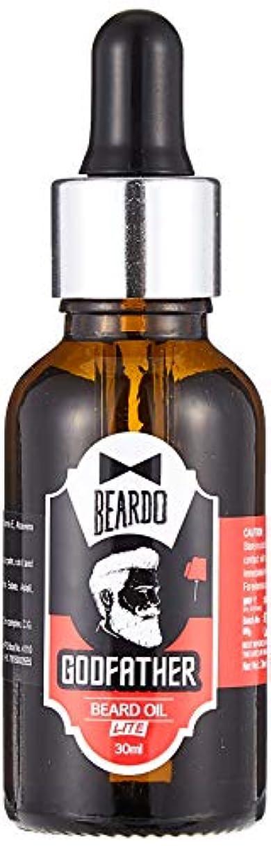 かる分離架空のBeardo Godfather Lite Beard And Moustache Oil - 30 ml With Natural Ingredients - Almond Oil, Aloe Vera Extract...
