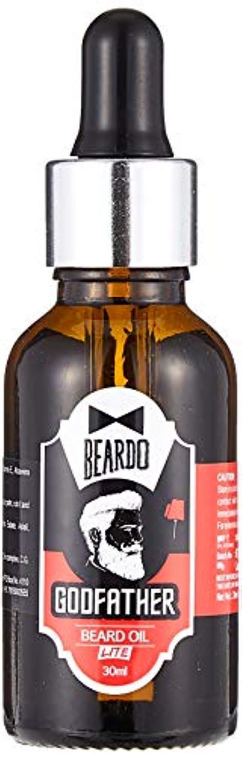 以上郵便不健全Beardo Godfather Lite Beard And Moustache Oil - 30 ml With Natural Ingredients - Almond Oil, Aloe Vera Extract...