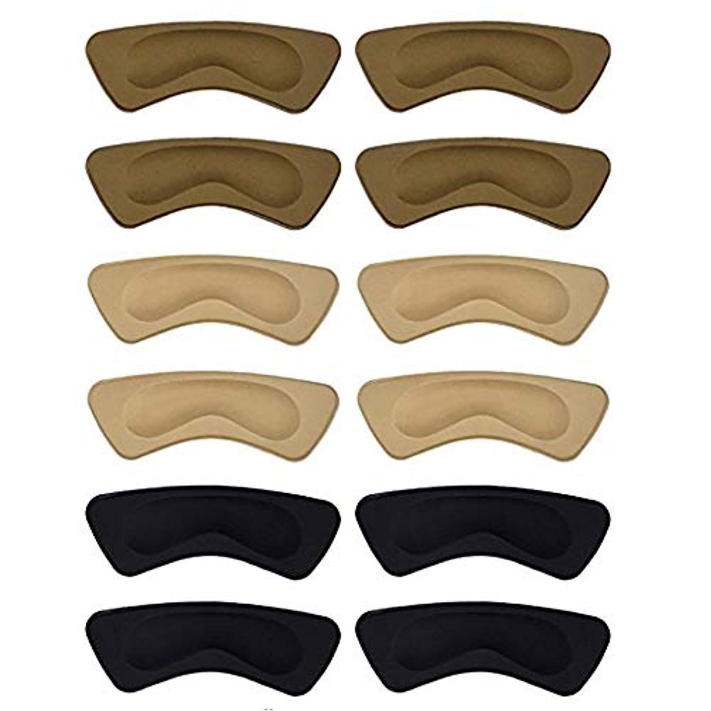 絡まる誘う測るヒールパッド ヒール かかと 靴擦れ サイズ調整 靴ずれ かかと 脱げ 防止 くつずれ防止パッド