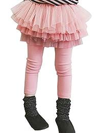 945b9b80c287c Amazon.co.jp  ピンク - スカート   ガールズ  服&ファッション小物