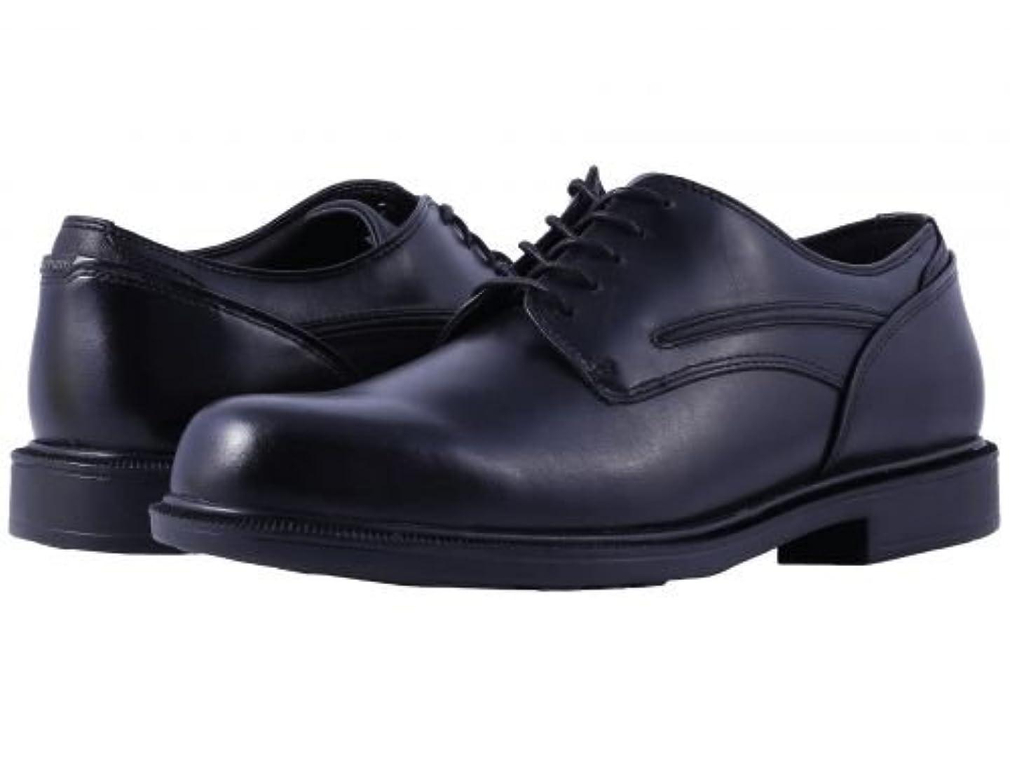ドライバ債務者受粉するDunham(ダナム) メンズ 男性用 シューズ 靴 オックスフォード 紳士靴 通勤靴 Burlington Waterproof - Black [並行輸入品]