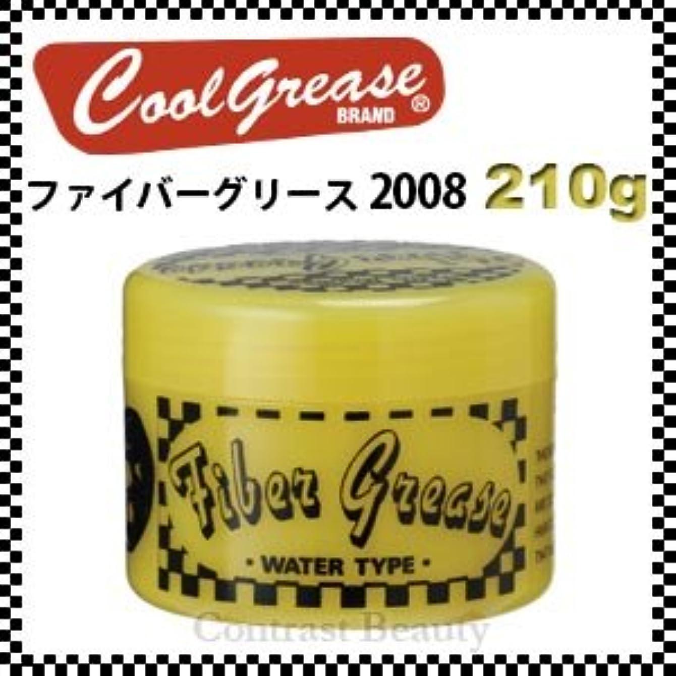 祝福する幸運な反対【X5個セット】 阪本高生堂 ファイバーグリース 2008 210g