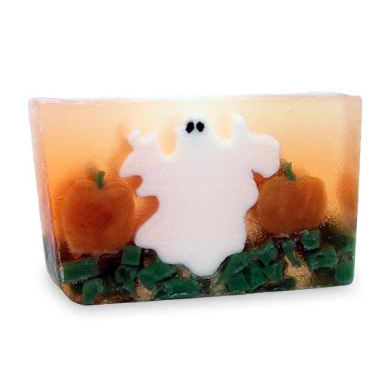 写真を描くで新しい意味プライモールエレメンツ アロマティック ソープ ゴースト 180g ハロウィンにおすすめ植物性のナチュラル石鹸