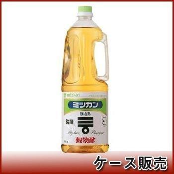 ミツカン 穀物酢 ペット 1.8L×6本