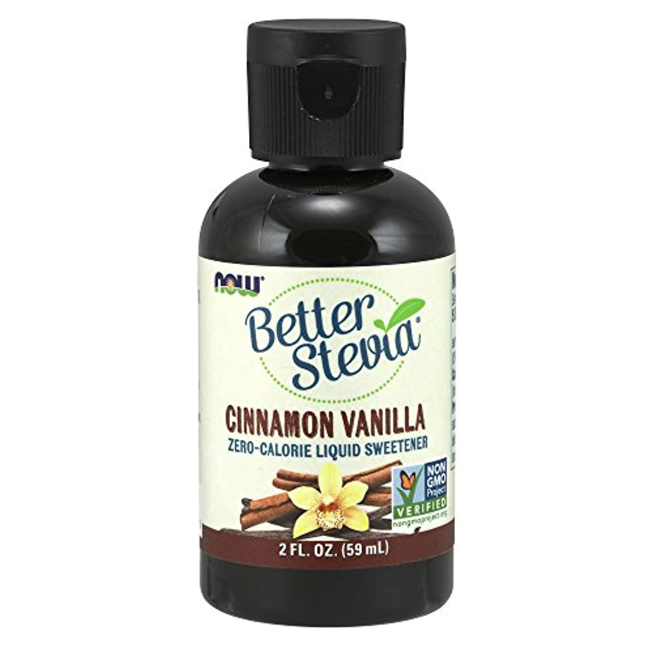 海港そこスペル[海外直送品] ナウフーズ  Better Stevia Liquid Sweetener Cinnamon Vanilla Cinnamon Vanilla 2 fl oz