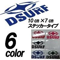 DESTINATION ディスティネーション ステッカー DS ステッカー STAR+DSURF シートタイプ