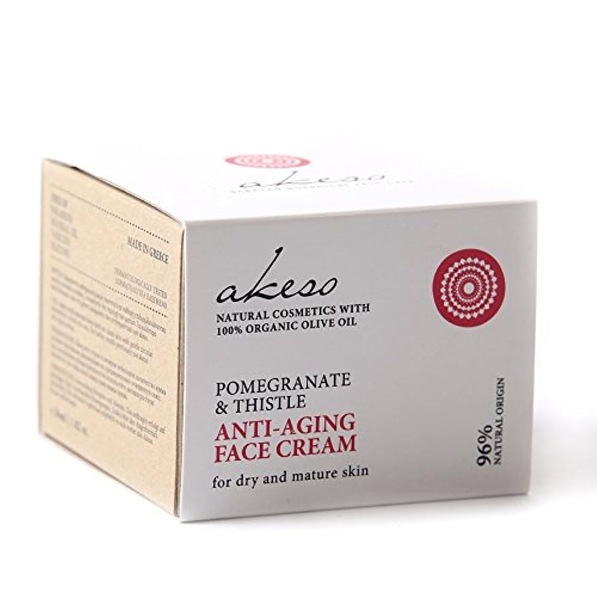 スピーカーパイントフォームPomegranate & Thistle Anti-ageing Face Cream - 50ml