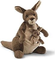 GUND 31074 Jirra Kangaroo Stuffed Animal Plush, Brown, 10 inch
