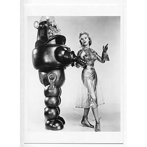 """アン・フランシス & ロビー・ザ・ロボット 写真(中) Photograph #1 映画""""禁断の惑星"""""""