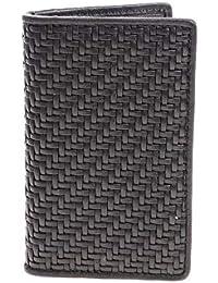 Ermenegildo Zegna メンズ E1300PPTANER ブラック 革 ウォレット