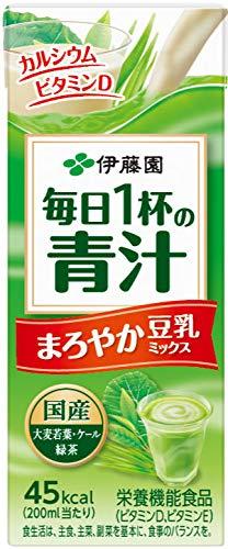 伊藤園 毎日1杯の青汁 紙パック 200ml ×24本