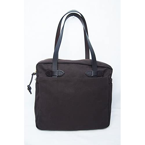 FILSON (フィルソン) /TOTE BAG with ZIPPER (Brown)