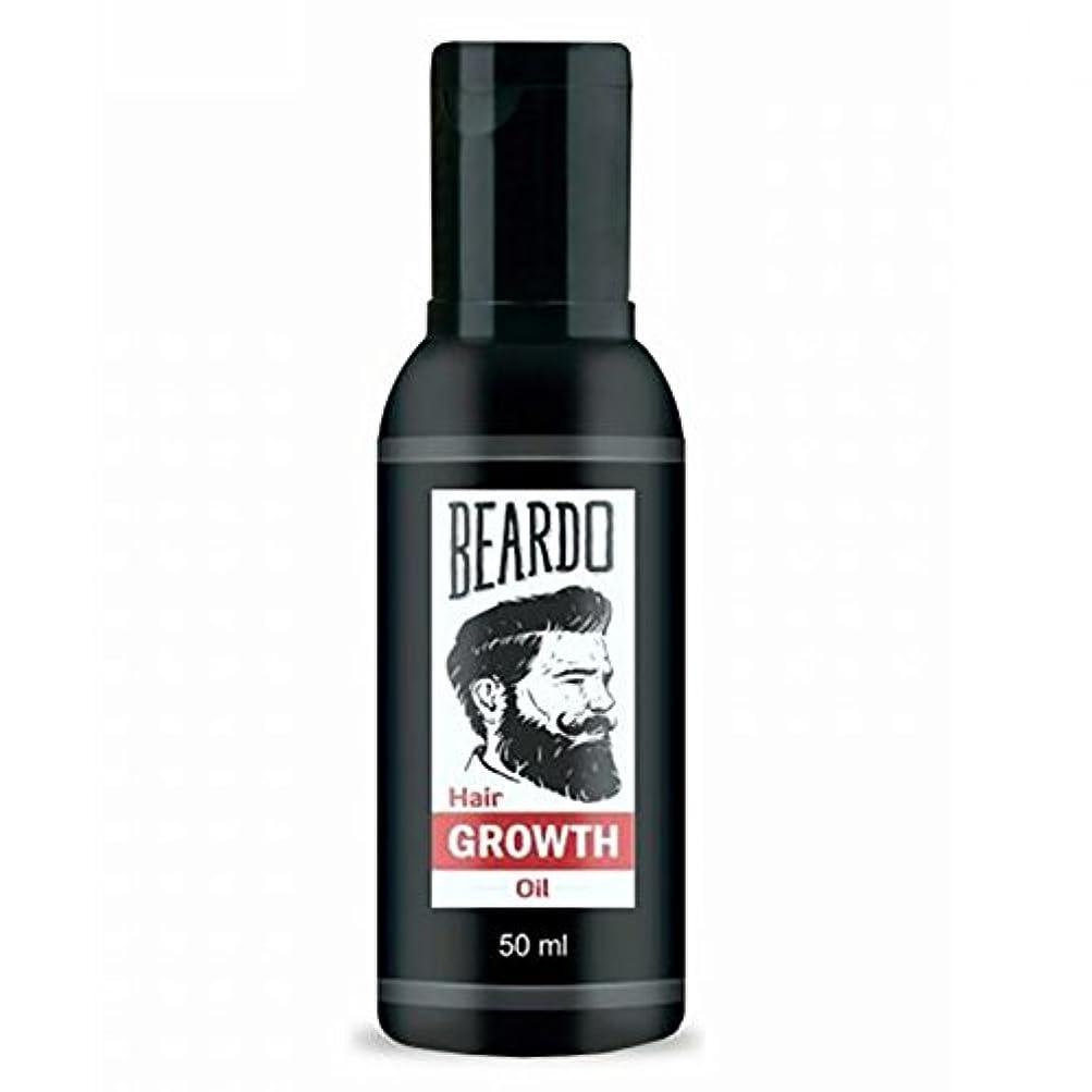 そばにポルトガル語リーンBeardo Beard and Hair Growth Oil 50 ml With Natural Ingredients - Rose and Hibiscus Oils