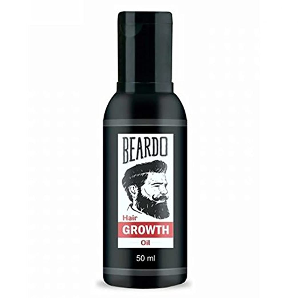 ローズ敵対的数学的なBeardo Beard and Hair Growth Oil 50 ml With Natural Ingredients - Rose and Hibiscus Oils