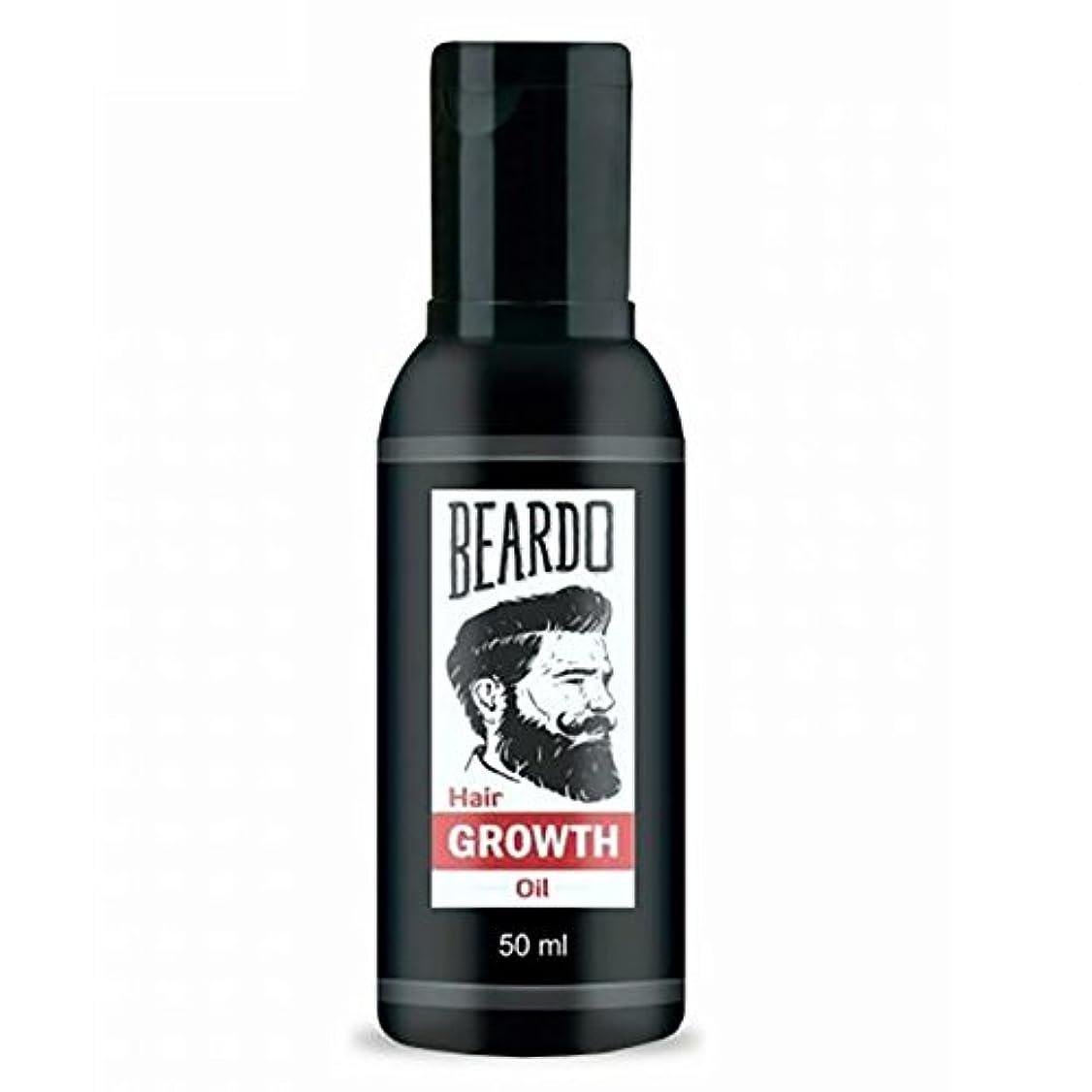 それからクール絶対のBeardo Beard and Hair Growth Oil 50 ml With Natural Ingredients - Rose and Hibiscus Oils
