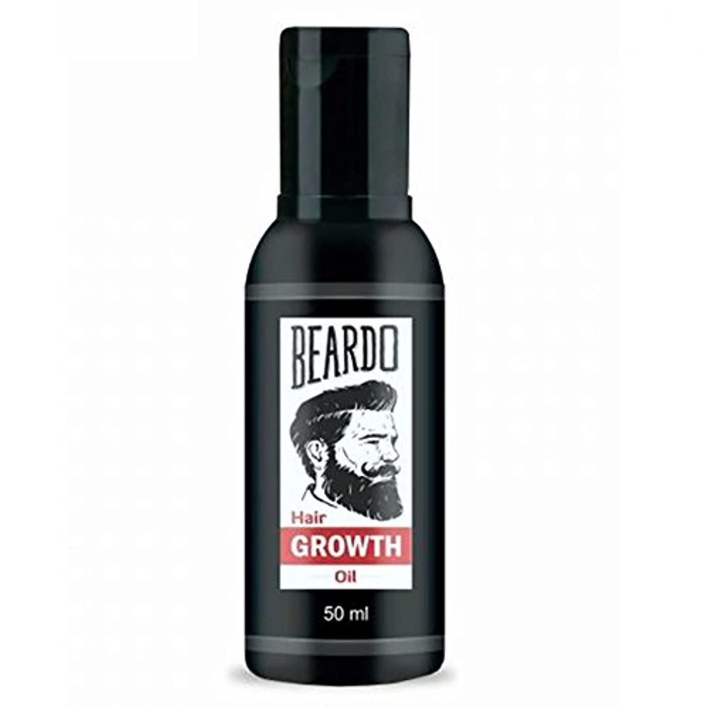 ごめんなさい退却デモンストレーションBeardo Beard and Hair Growth Oil 50 ml With Natural Ingredients - Rose and Hibiscus Oils