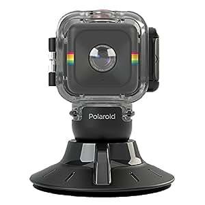 【国内正規品】 Polaroid ポラロイド キューブ HDアクションカメラ用 サクションマウント付き防水ケース POLC3WSM