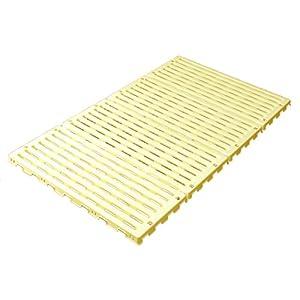 蝶プラ工業 すのこベッド エアースリープベビー イエロー 70×120cm 782627 0ヶ月~24ヶ月 樹脂製