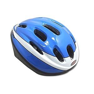 HACHISUKA(ハチスカ) 自転車用 キッズヘルメット MV-9 ブルー S(52~56cm)