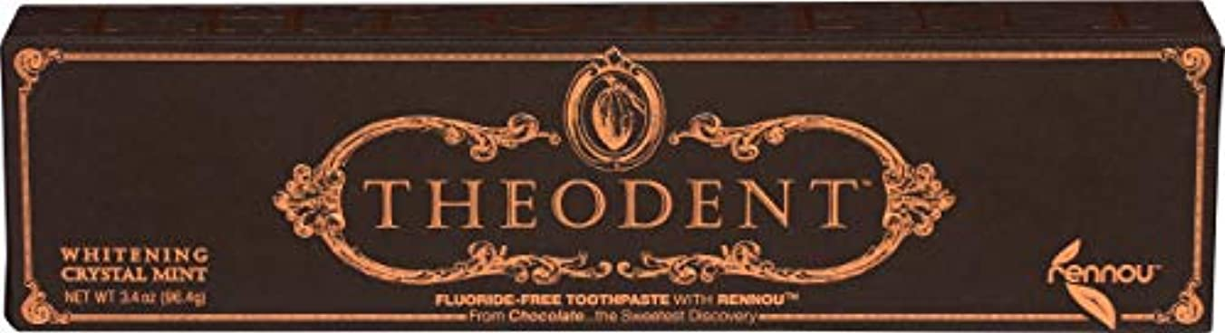 医師絶望代名詞Theodent Toothpaste - Flouride Free - Luxury - Mint Classic - 3.4 oz