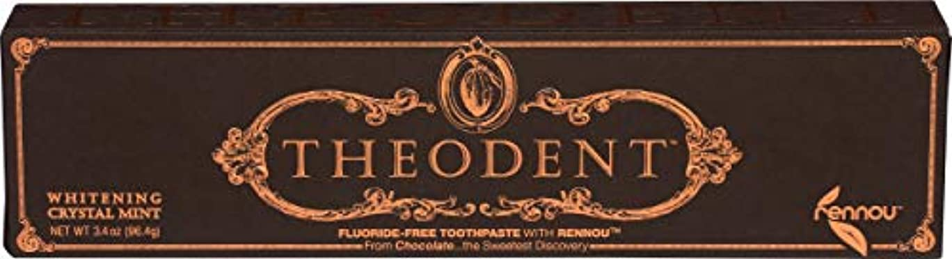 母性ラメ醸造所Theodent Toothpaste - Flouride Free - Luxury - Mint Classic - 3.4 oz