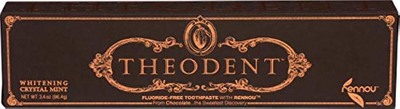 証明パネル未使用Theodent Toothpaste - Flouride Free - Luxury - Mint Classic - 3.4 oz
