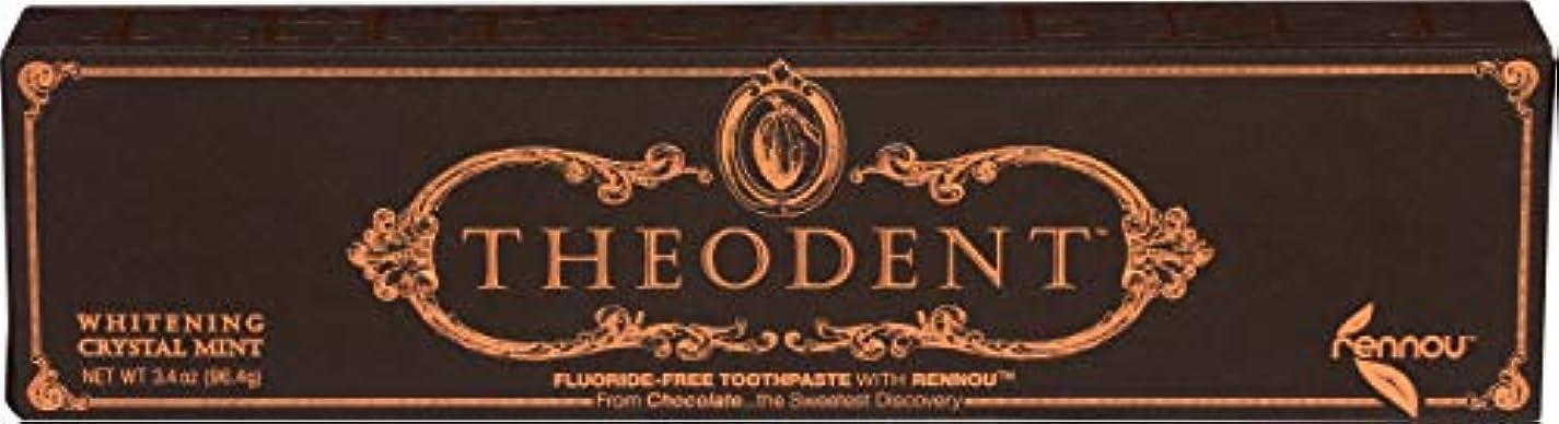 忌避剤冷ややかなマイコンTheodent Toothpaste - Flouride Free - Luxury - Mint Classic - 3.4 oz