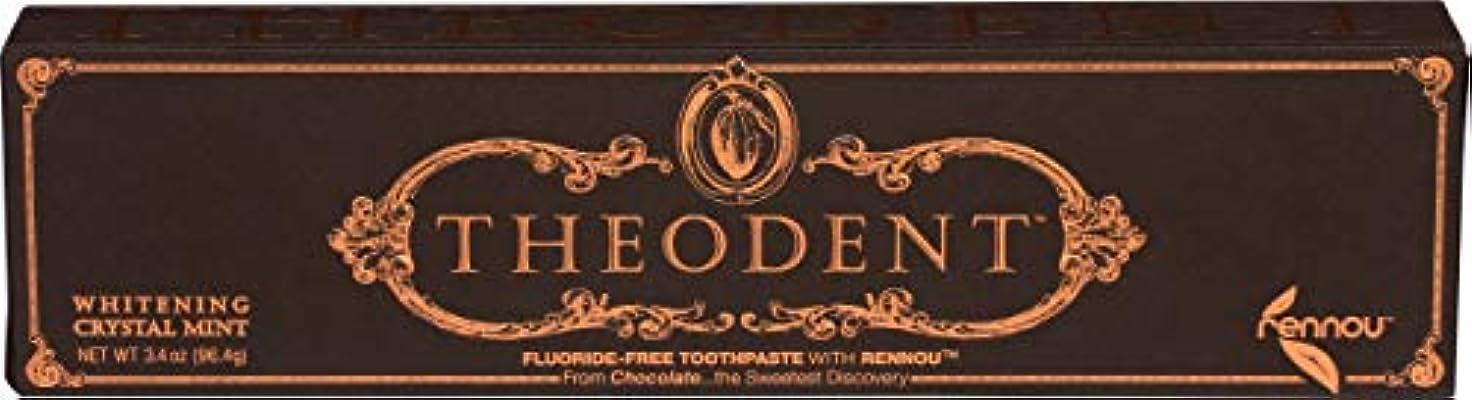 比喩夢中コーラスTheodent Toothpaste - Flouride Free - Luxury - Mint Classic - 3.4 oz