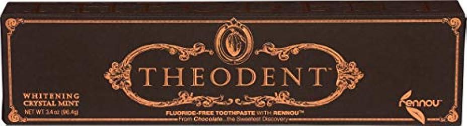 闘争傭兵ソートTheodent Toothpaste - Flouride Free - Luxury - Mint Classic - 3.4 oz
