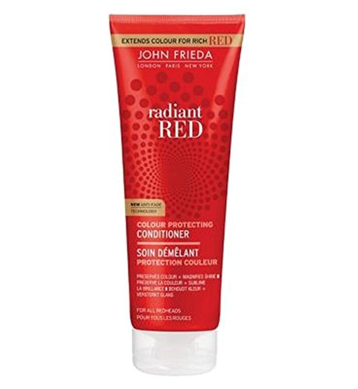 ガラガラリアルタオルジョン?フリーダ放射赤色拡大コンディショナー250Ml (John Frieda) (x2) - John Frieda Radiant Red Colour Magnifying Conditioner 250ml (...