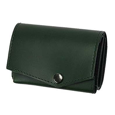 小さい財布 abrAsus アブラサス 最上級ブッテーロレザーエディション グリーン