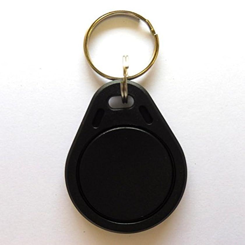 グリットピアニスト自伝キーホルダー【RXK04】FeliCa Lite-S(フェリカライトエス) RFID ICタグ (ブラック)