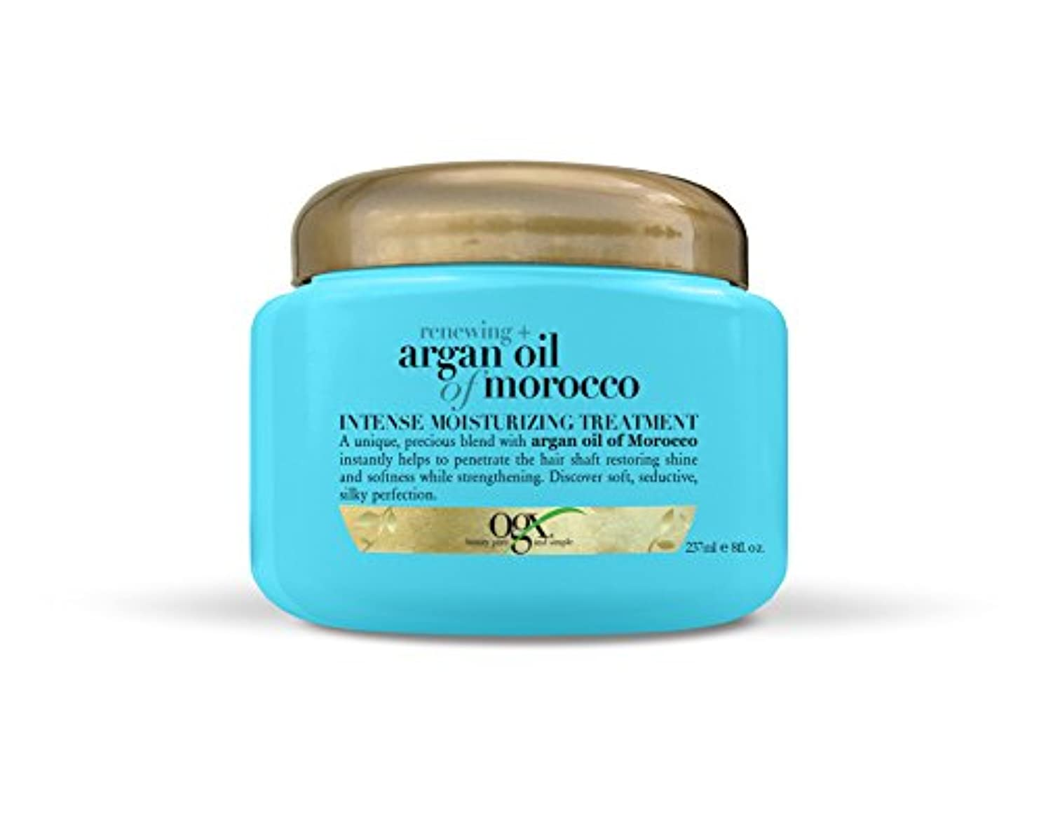 道はげオプションOrganix Moroccan Argan Oil Treatment 226g Jar (並行輸入品)