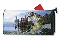 MailWraps Big Catch Mailbox Cover #01425 by MailWraps