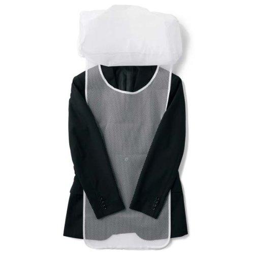 ビサルノ(VISARUNO) 簡単洗濯ネット(ジャケット用) 【ホワイト/1サイズ】