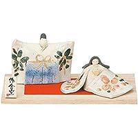 桃の節句 ひな人形 錦彩 タタラ雛 HK605