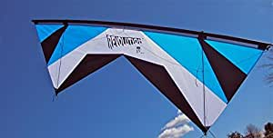 おもちゃ Revolution 1.5 SLE Standard Bright Blue White Black Quad Line Stunt Kite Made in the USA スポーツ アウトドア [並行輸入品]