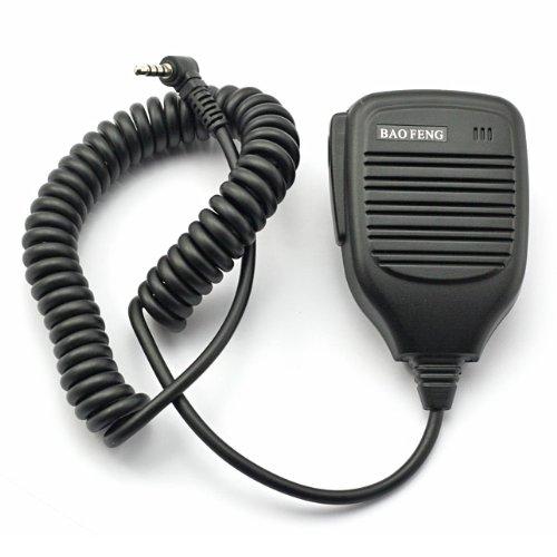 [해외]Baofeng UV-3R 원격 마이크 스피커 소형 마이크 ??병행/Baofeng UV-3R remote microphone speaker handheld microphone parallel import