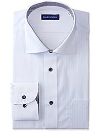 (はるやま)HARUYAMA 形態安定 アーバンモデル 長袖 セミワイドカラーワイシャツ